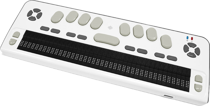 Photo of the Braille Edge 40 Braille Display with Executive Products Carrying Case for $2,495.00 USD - Flying Blind, LLC Online Store