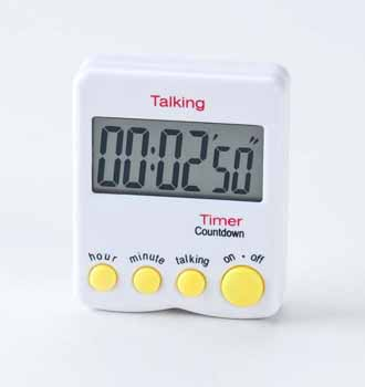 Photo of the Talking Kitchen Timer for $17.95 USD - Flying Blind, LLC Online Store