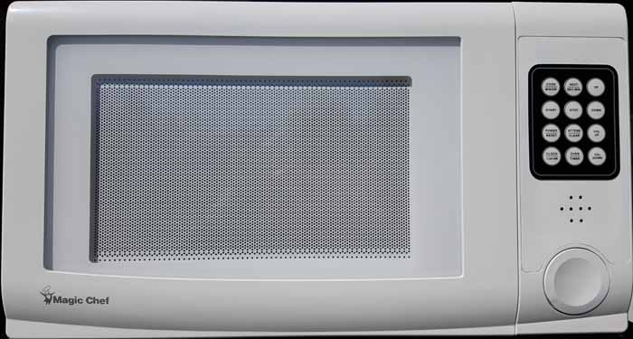 Photo of the Talking Microwave 1.0 Cubic Foot Capacity for $399.95 USD - Flying Blind, LLC Online Store