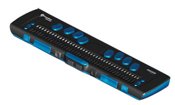 Photo of the Focus 40 Blue Refreshable Braille Display for $2,195.00 USD - Flying Blind, LLC Online Store.