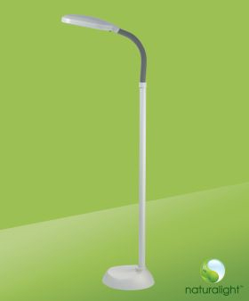 Photo of the Naturalight Hobby Floor Lamp - $109.95 USD - Flying Blind, LLC Online Store