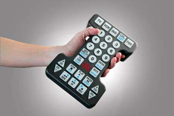 Photo of the Jumbo Illuminated TV Remote Control  - $39.95 USD Each - Flying Blind, LLC Online Store