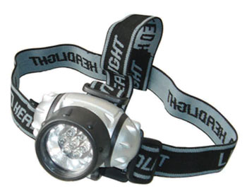Photo of the LED Headlamp.
