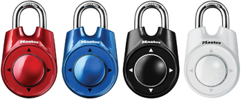 Photo of the Master Speed Dial Set Your Own Combination Lock - $19.95 USD Each - Flying Blind, LLC Online Store