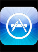 Photo of the Apple App Store Logo.
