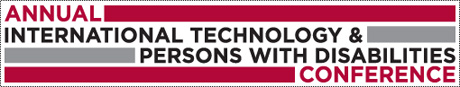 27th Annual International Technology and Persons with Disabilities Conference Logo