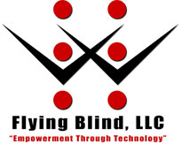 Flying Blind, LLC Logo