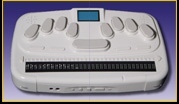 Photo of the BrailleSense 32