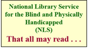 National Library Service for the Blind and Physically Handicapped (NLS) Logo
