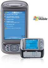 Photo of the Cingular 8525 Pocket PC Cell Phone