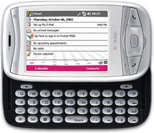 Photo of the T-Mobile MDA Windows Mobile Phone