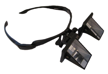 Photo of the Reversible Prism Glasses - $129.95 USD Each - Flying Blind, LLC Online Store