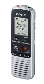 Photo of the Sony ICD BX132 Digital Voice Recorder - $79.95 USD Each - Flying Blind, LLC Online Store