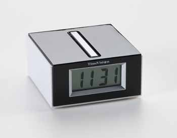 Photo of the Square Talking Clock - Low Profile - $25.95 USD Each - Flying Blind, LLC Online Store