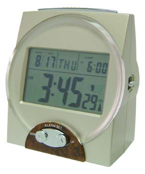 Photo of the Talking Radio Controlled Atomic Clock - $48.95 USD Each - Flying Blind, LLC Online Store