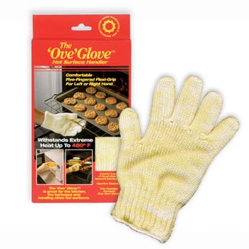 Photo of The Ove Glove 5 Fingered Oven Protection Glove - $23.95 USD Each - Flying Blind, LLC Online Store